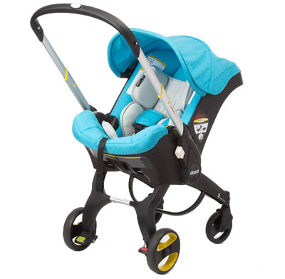 A car seat and stroller in one.