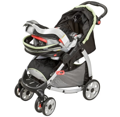 A travel-system stroller.