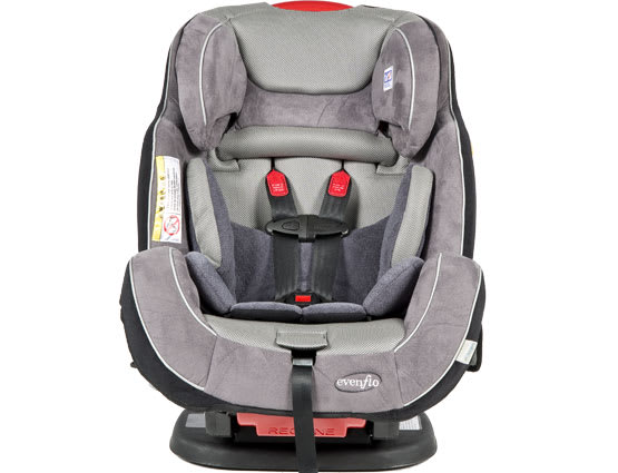 An all-in-one car seat