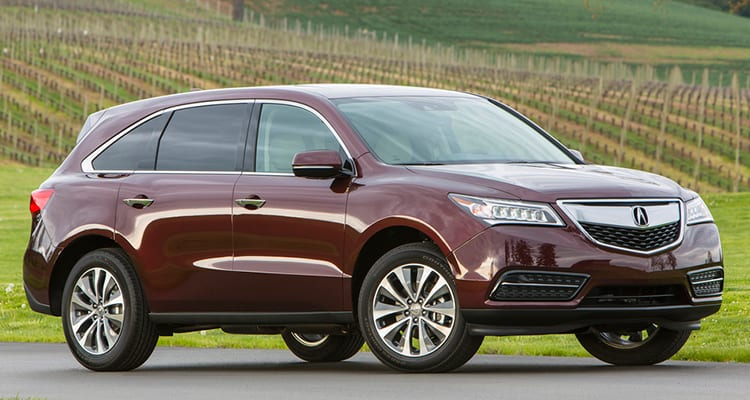 Best SUVs for Family Acura MDX