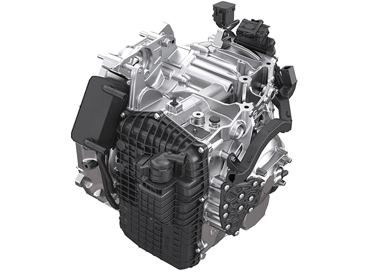 Acura TLX nine-speed automatic transmission