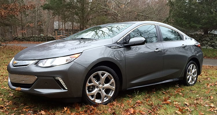 2016 Chevrolet Volt electric vehicle