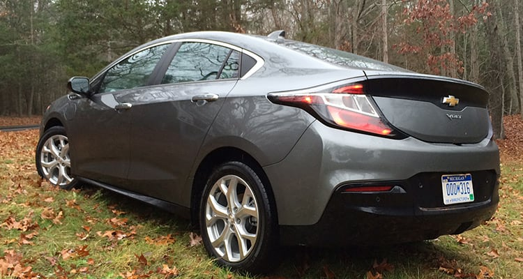 2016 Chevrolet Volt rear