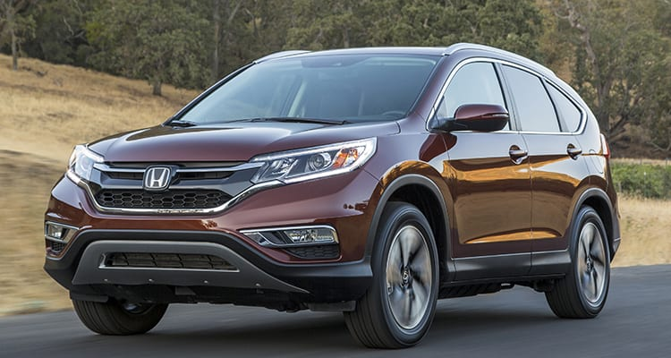 People's Pick 10 Most Popular Cars - Honda CR-V