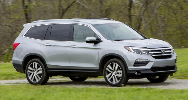 Honda Pilot Best SUVs for Family