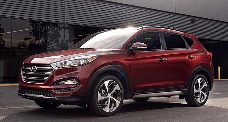 Hyundai Tucson Best SUVs for Family
