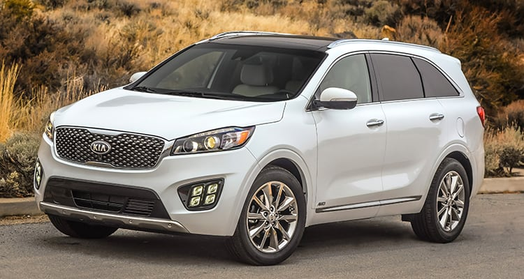 People's Pick 10 Most Popular Cars - Kia Sorento