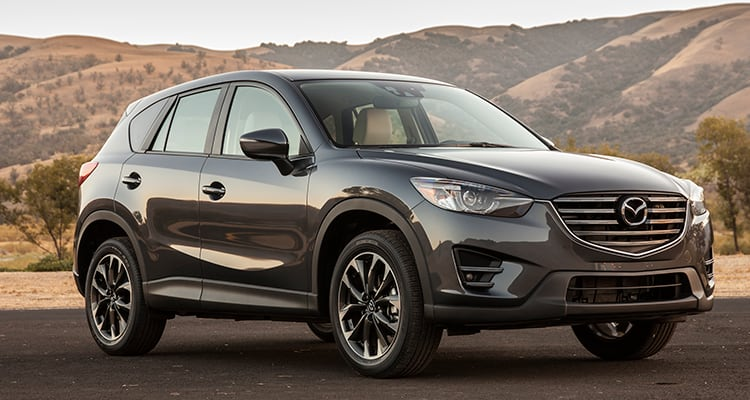 Mazda CX-5 Best SUVs for Family