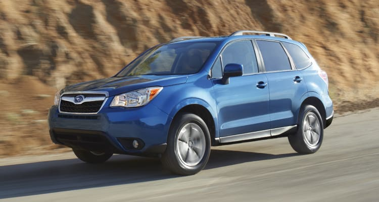 Subaru Forester Best SUVs for Family