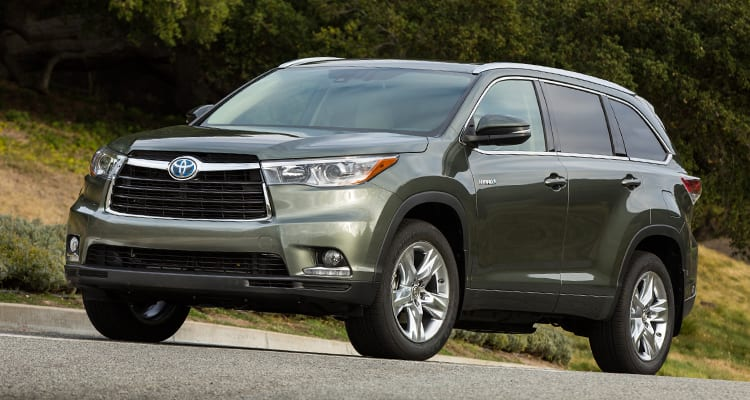 Toyota Highlander Best SUVs for Family