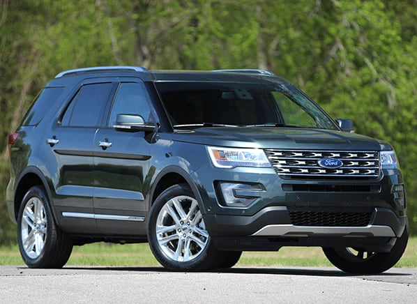 2016 Ford Explorer Receives Cosmetic and Powertrain Updates