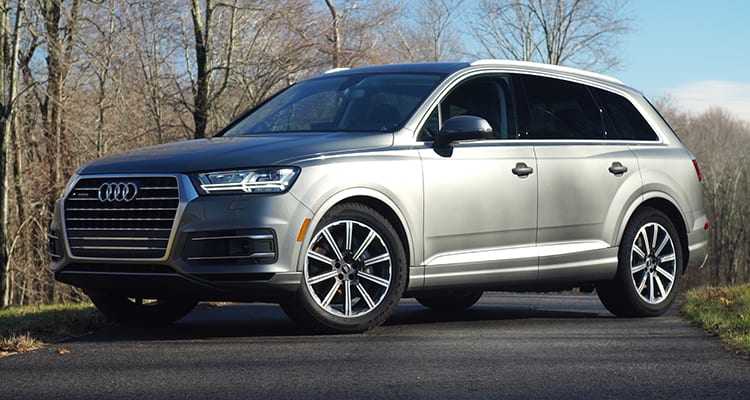 Consumer Reports named the 2017 Audi Q7 the new top-rated suv