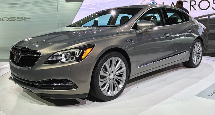 2017 Buick LaCrosse at the LA Auto Show