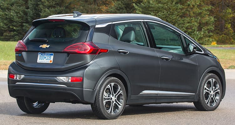 2017 Chevrolet Bolt EV rear
