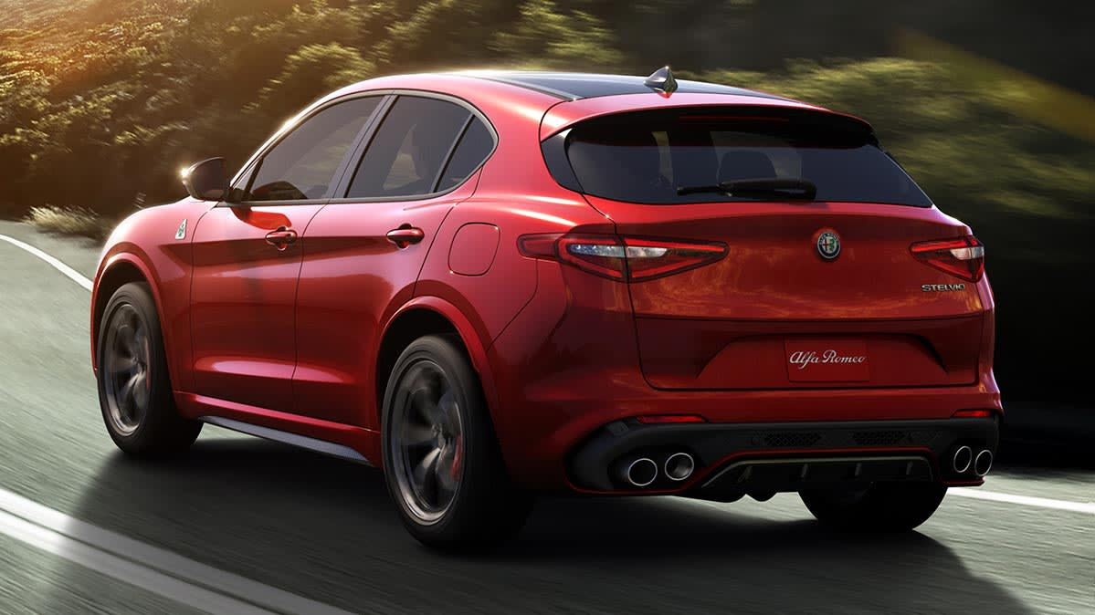Preview: 2018 Alfa Romeo Stelvio SUV - Consumer Reports