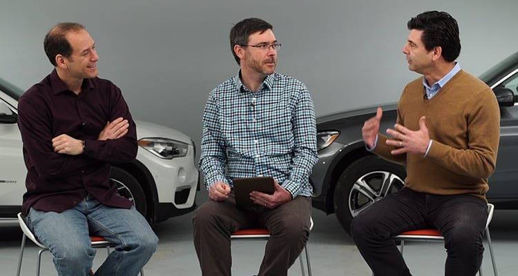 Jake Fisher, Tom Mutchler, and Gabe Shenhar discuss self-driving cars on Talking Cars.