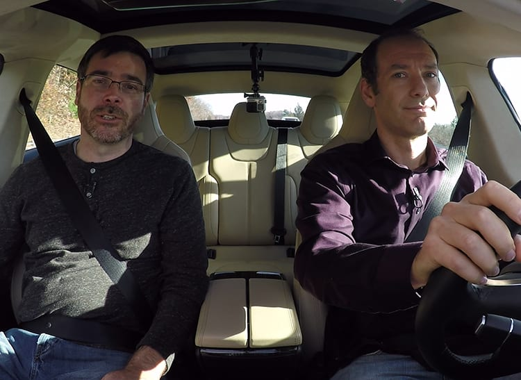 Talking Cars video podcast goes behind the wheel of a Tesla Model S P85D with Autopilot.