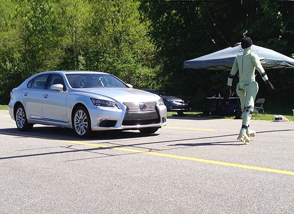 Toyota's Pedestrian-Detection System Makes an Impact