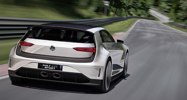 Volkswagen Golf GTE Sport Concept eveals a future vision for a high-performance plug-in hybrid. Where do self-driving cars fit into the picture?