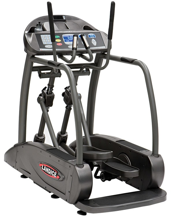 A center-drive elliptical.