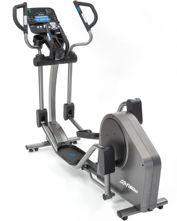 A rear-drive elliptical.