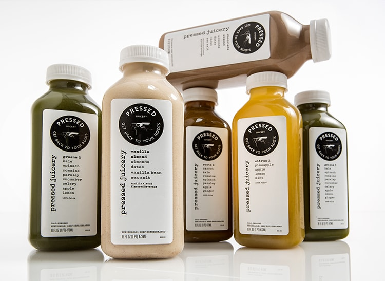 This is an image of Pressed Juicery's Cleanse 1 juice cleanse program.