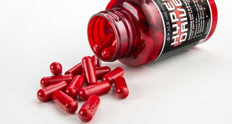Hyperdrive 3.0 and other diet pills and weight loss supplements found to contain oxilofrine, similar to ephedra.