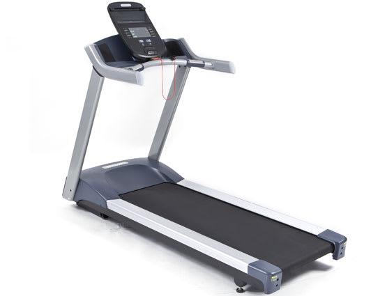 A non-folding treadmill.