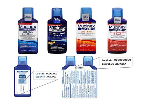 Stop Taking Mucinex Fast Max Liquid Medicines