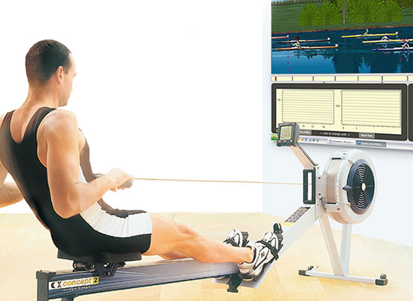 RowPro Simulator for Concept 2 Rower | Video Games - Consumer