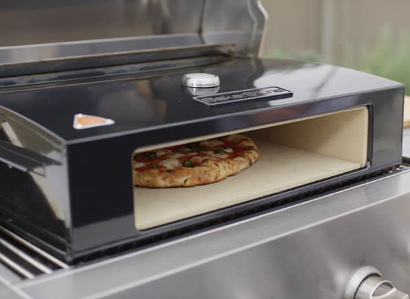 Grill Into An Outdoor Gas Pizza Oven