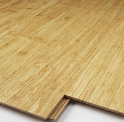 Solid wood flooring.