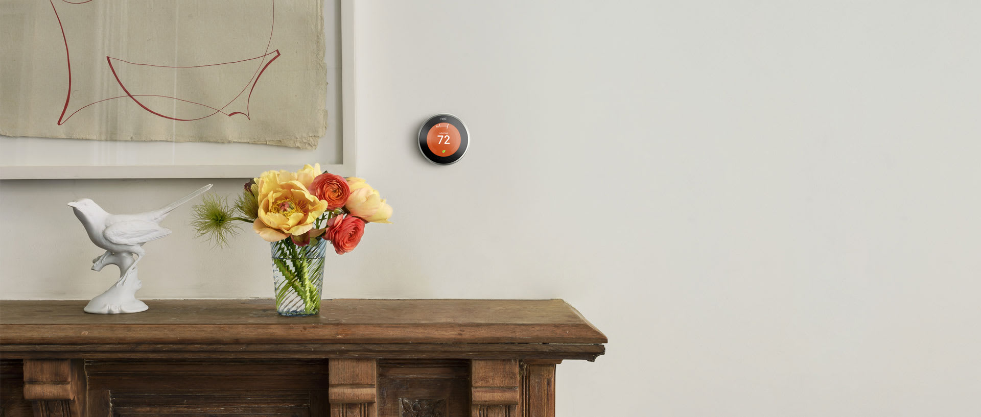 New Nest Thermostat is Slim and Bright