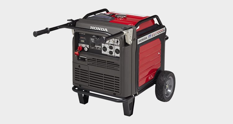 Honda EU7000is portable inverter generator is a great additional to your emergency gear.