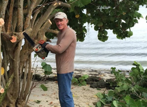 Greg Norman Injured In Chain Saw Accident Consumer