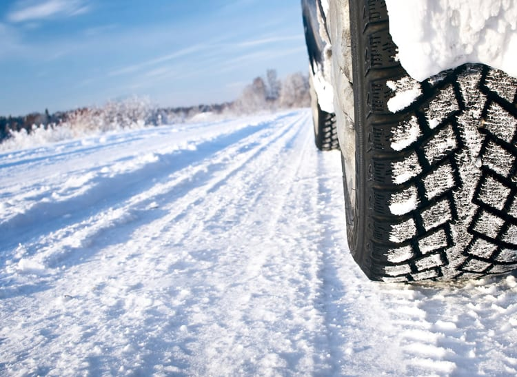 For safe winter driving, invest in a set of studless winter tires