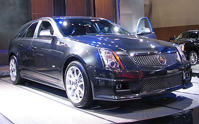 2011 Cadillac Cts V Wagon Wagons 2010 New York Auto Show