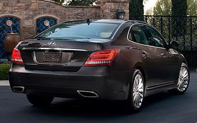 2014 Hyundai Equus 2013 New York Auto Show Consumer