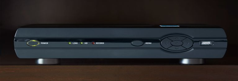 Photo of a cable box.