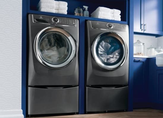 Electrolux EFLS627UTT Washer and Electrolux EFME627UTT Dryer