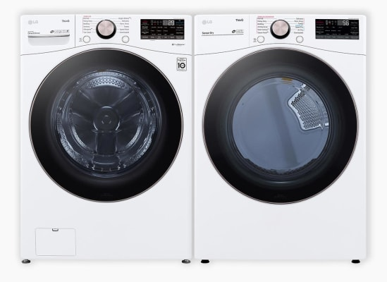 LG WM4000HWA washer and LG DLEX4000W dryer