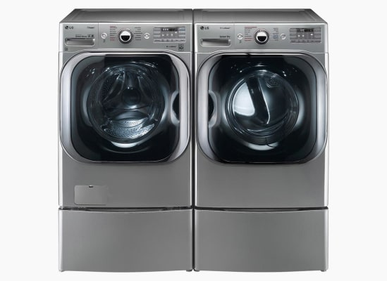 LG WM8100HVA Washer and LG DLEX8100V Dryer