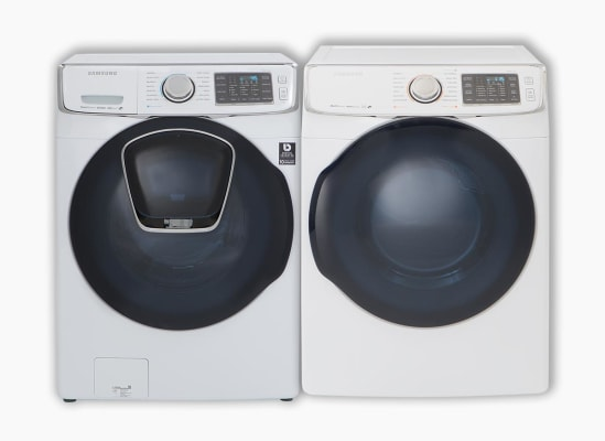 Samsung WF45K6500AW Washer and Samsung DV45K6500EW Dryer