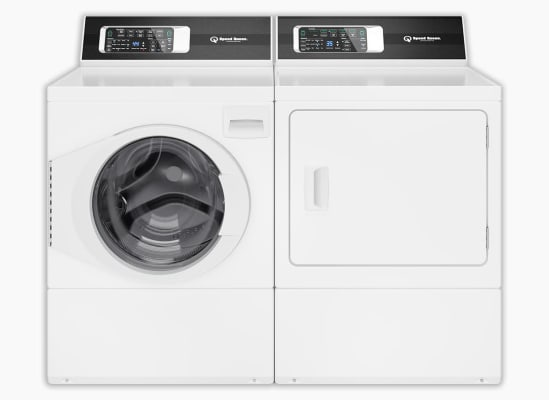 Speed Queen FF7005WN washer and Speed Queen DF7000WE dryer