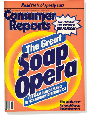 An image of the July 1987 Consumer Reports Magazine cover.