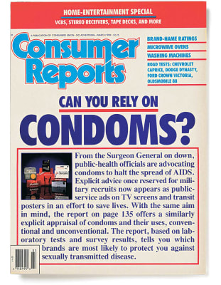 An image of the March 1989 Consumer Reports Magazine cover.