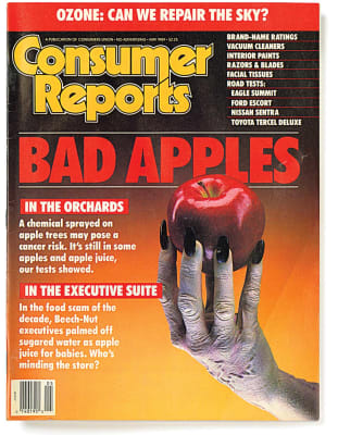 An image of the May 1989 Consumer Reports Magazine cover.