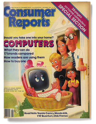 An image of the September 1983 Consumer Reports Magazine cover.