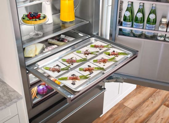 BlueStar refrigerator with