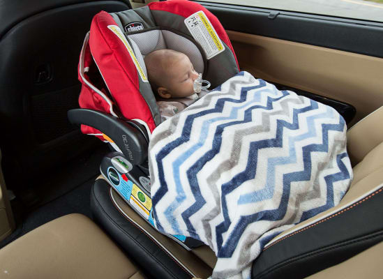 Infant Car Seat Blanket